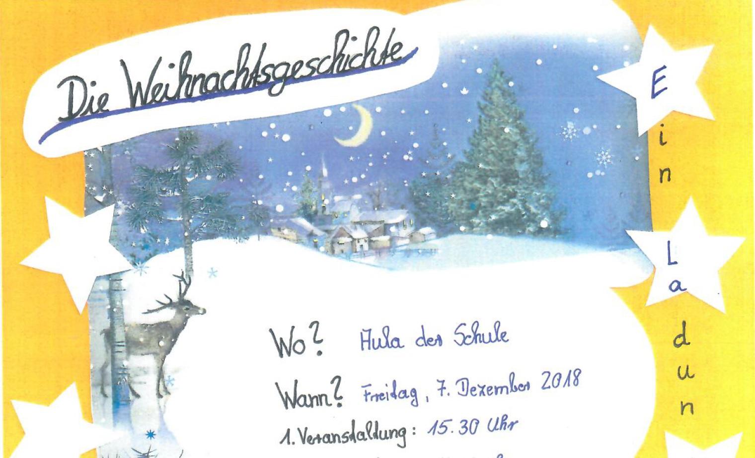 Weihnachtsgeschichte - Grundschule \